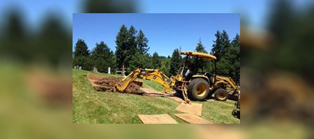 Lund Cemeteries specialized equipment and skills